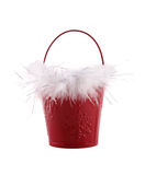 Holiday pail Royalty Free Stock Photo