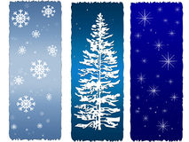 Holiday Panels Stock Image