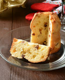 Holiday Panettone Stock Image
