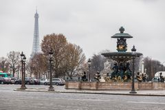 Holiday in Paris, France with during winter Christmas. Holiday in France with during winter Christmas stock image