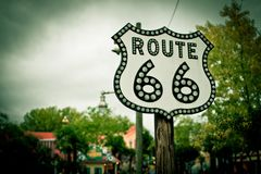 Holiday paris route 66. Family vacation in Paris City of Love stock photos