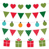Holiday party banners Royalty Free Stock Image