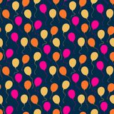 Holiday pattern with balloons Royalty Free Stock Photography