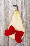 Holiday Pear Royalty Free Stock Image
