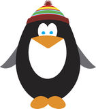 Holiday Penguin. Cute illustration of a holiday themed penguin Stock Photos