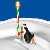 Holiday Penguin 3 Stock Images