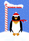 Holiday Penguin Illustration Stock Photography