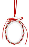 Holiday photo ornament Royalty Free Stock Images