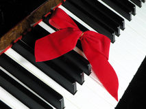 Holiday Piano Stock Image