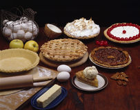 Holiday Pies Stock Photo
