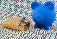 Holiday Piggy and Gifts Royalty Free Stock Photo