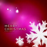 Holiday pink abstract background, winter Royalty Free Stock Images