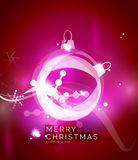 Holiday pink abstract background, winter Royalty Free Stock Photo