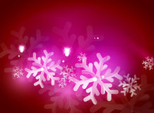 Holiday pink abstract background, winter Stock Image