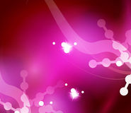 Holiday pink abstract background, winter Royalty Free Stock Image