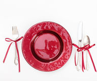 Holiday Place Setting Royalty Free Stock Photos