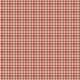 Red & Green Holiday Plaid Seamless Pattern. Holiday plaid background pattern for a variety of uses. EPS file includes global colors for easy color changes Royalty Free Stock Photography