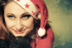 Holiday portrait Stock Images