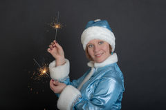 Holiday portrait Royalty Free Stock Photo
