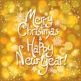 Holiday postcard Stock Photography