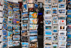 Holiday postcards Stock Photo