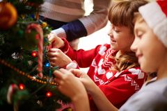 Holiday preparations Royalty Free Stock Images