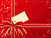 Holiday present background. Royalty Free Stock Photo