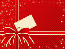 Holiday present background. Royalty Free Stock Images