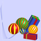 Holiday Presents. Vector illustration of holiday presents stock illustration
