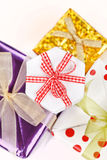 Holiday presents Stock Images