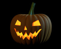 Holiday pupmkin jack lantern Royalty Free Stock Photo