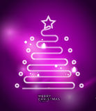 Holiday purple abstract background, winter Royalty Free Stock Photos