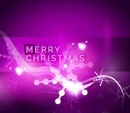 Holiday purple abstract background, winter Royalty Free Stock Photo