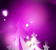 Holiday purple abstract background, winter. Snowflakes, Christmas and New Year design template, light shiny modern vector illustration vector illustration