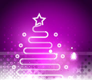 Holiday purple abstract background, winter Royalty Free Stock Images