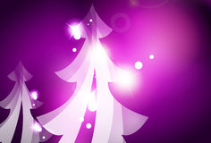 Holiday purple abstract background, winter Stock Photos