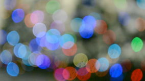 Holiday rainbow lights heap, carnival details, Royalty Free Stock Photography