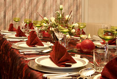 Holiday in red Royalty Free Stock Photography