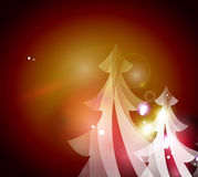 Holiday red abstract background, winter snowflakes Royalty Free Stock Photography
