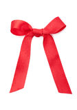 Holiday red bow Stock Photography