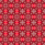 Holiday Red Sparkle Seamless Background Pattern Tile stock illustration