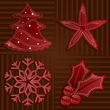 Holiday Reds Stock Image