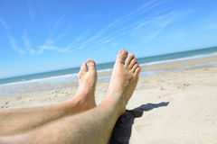 Holiday relaxing Royalty Free Stock Photo