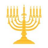 Holiday religion jewish Hanukkah festival of Lights. Royalty Free Stock Photography