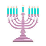 Holiday religion jewish Hanukkah festival of Lights. Stock Images