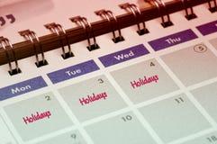 Holiday Reminder Stock Photos