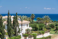Holiday residencies on Cyprus. Holiday residencies in Paralimni, Cyprus Royalty Free Stock Image