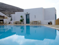 Holiday resort. In Folegandros island, in Greece Stock Photography
