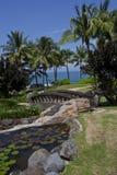 Holiday resort stock photo