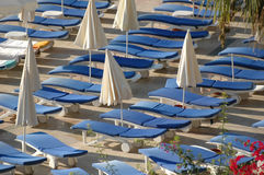 Holiday resort. Chairs on holiday resort Stock Photography